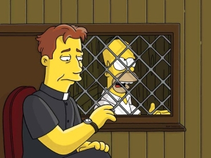 Liam Neeson in the Simpsons